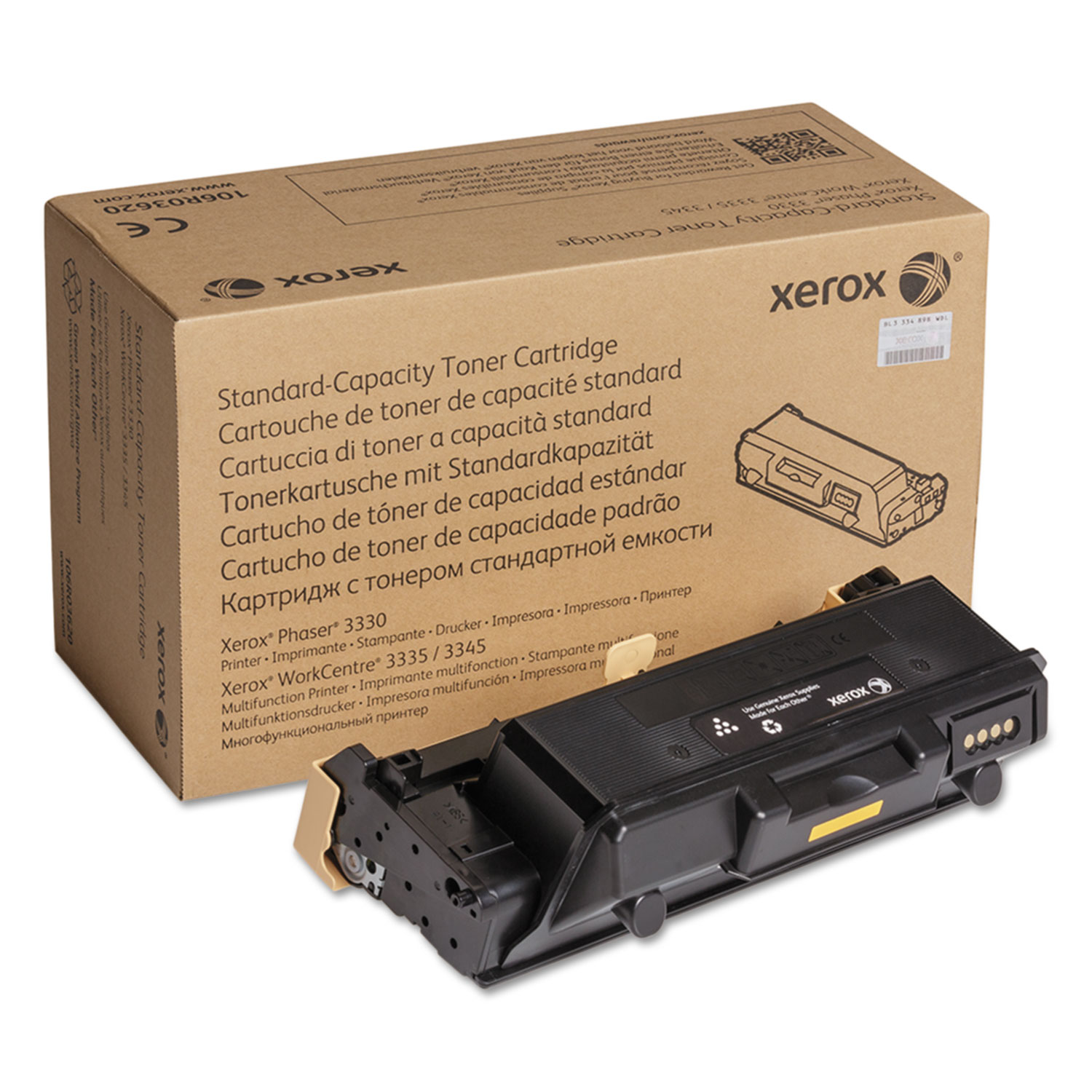 106R03620 Toner, 2600 Page-Yield, Black