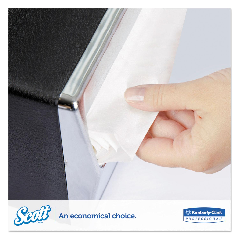 Mini-Fold Dispenser Napkins, 1-Ply, 13 x 12, White, 250/Pack, 24 Packs/Carton