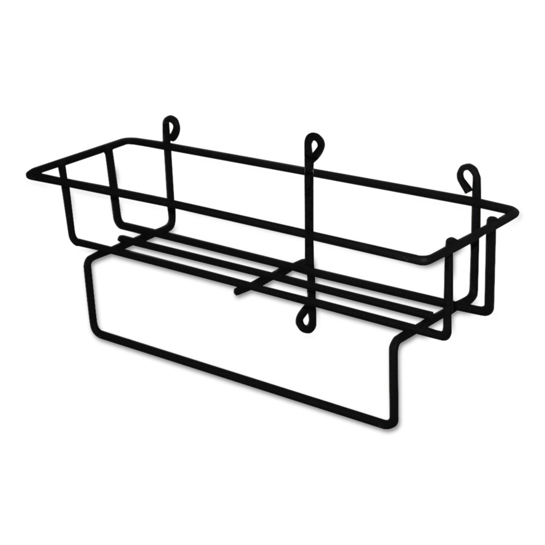 RTD 5L Wire Basket, Black, 20 x 26 x 13.3 - 14, 12/Carton