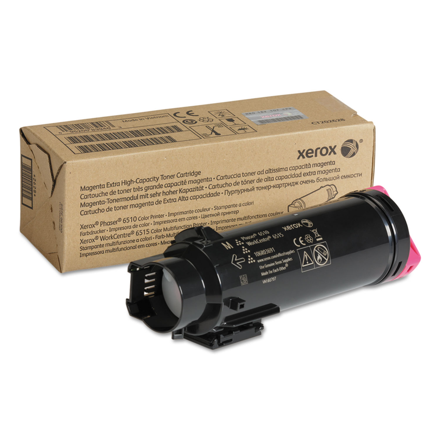 106R03691 Extra High-Yield Toner, 4300 Page-Yield, Magenta