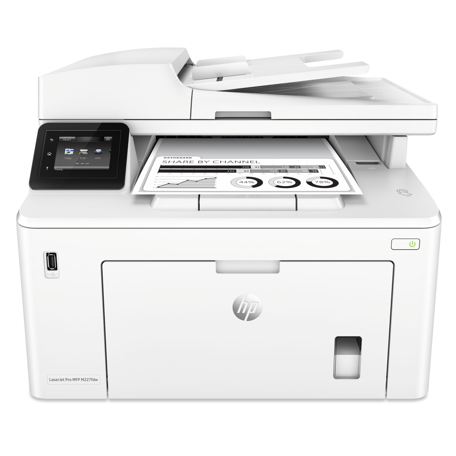 LaserJet Pro MFP M227fdw Printer, Copy/Fax/Print/Scan