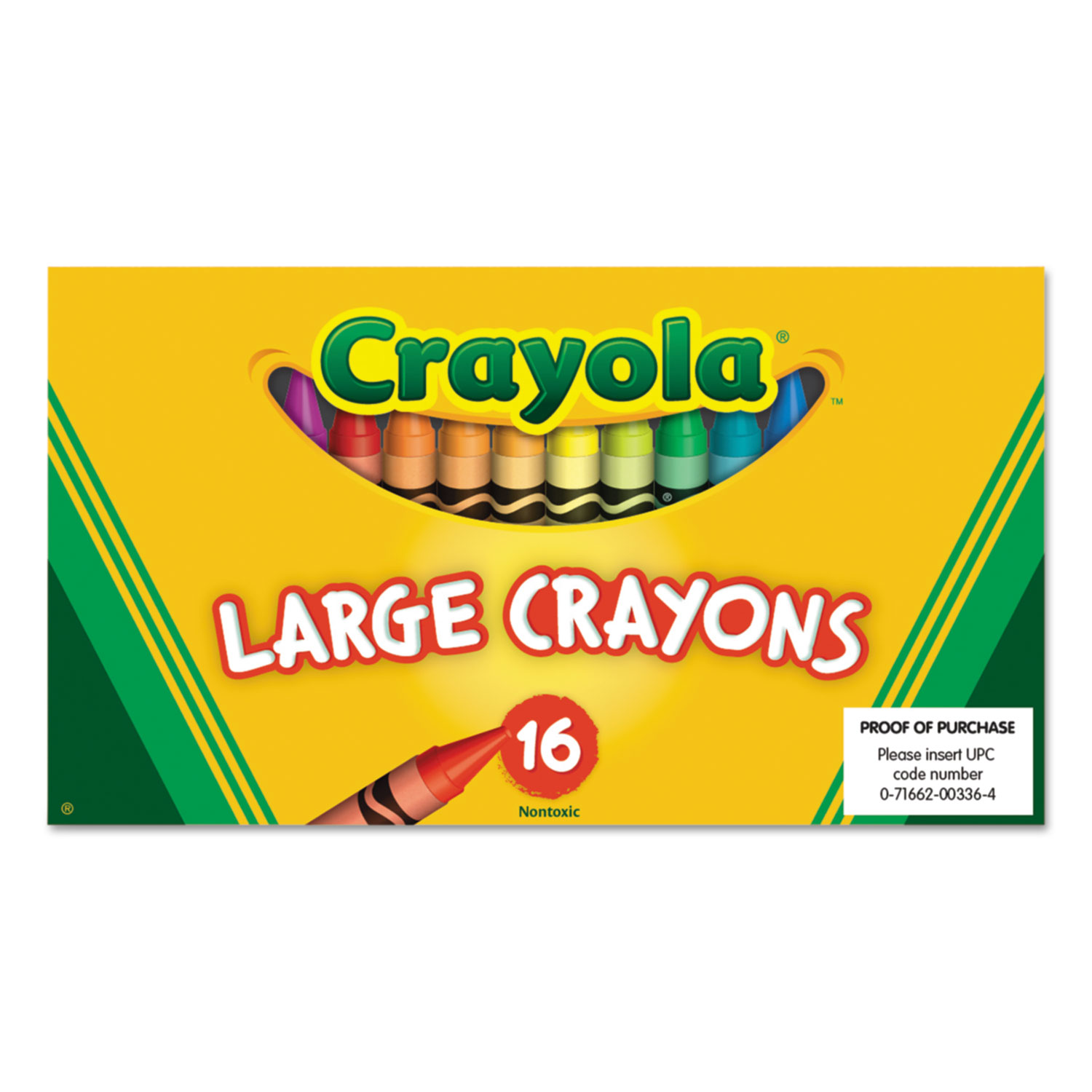 Large Crayons by Crayola® CYO520336 | OnTimeSupplies.com