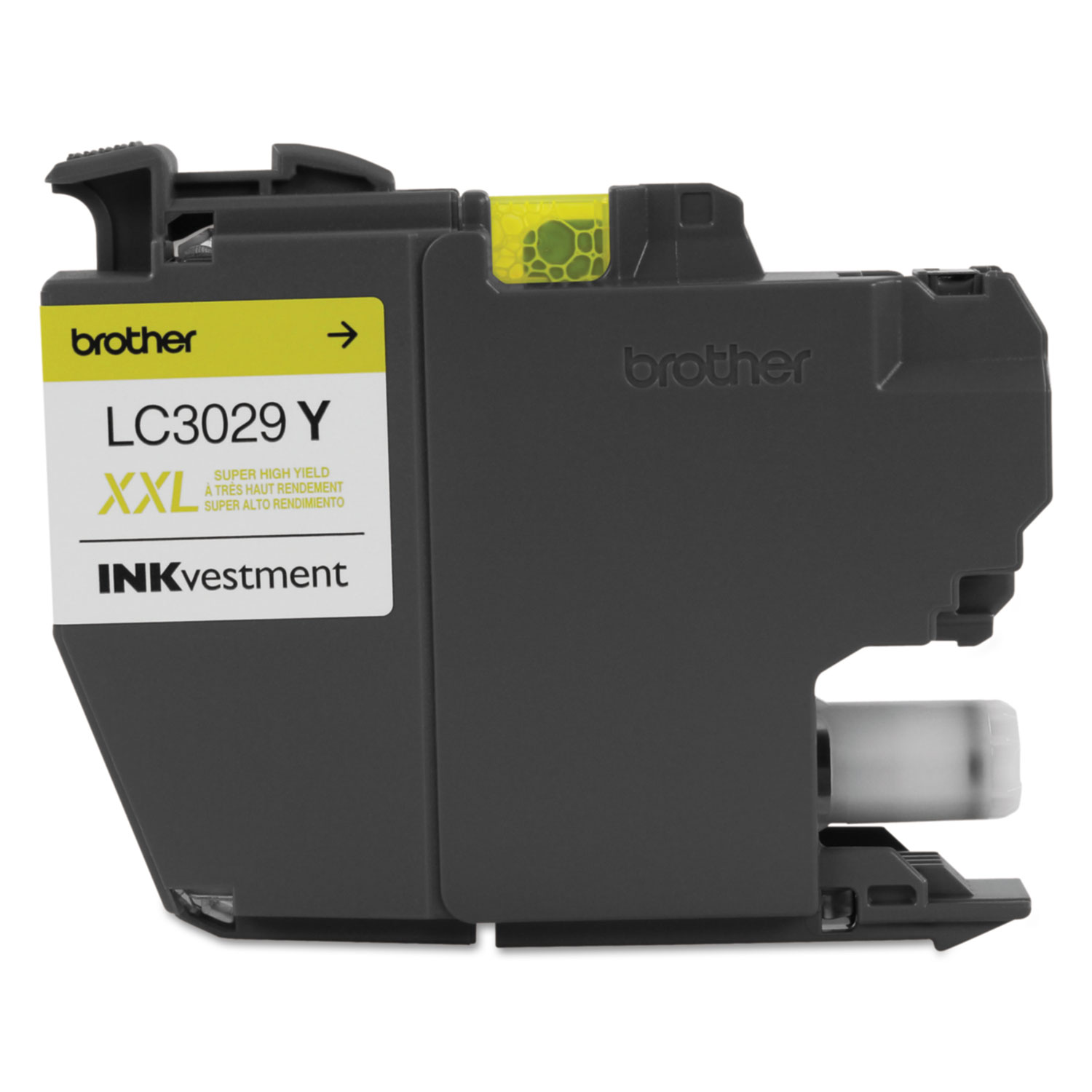 LC3029Y INKvestment Super High-Yield Ink, 1500 Page-Yield, Yellow