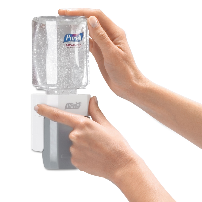 Advanced Instant Hand Sanitizer Gel, Lemon Scent, 450 mL