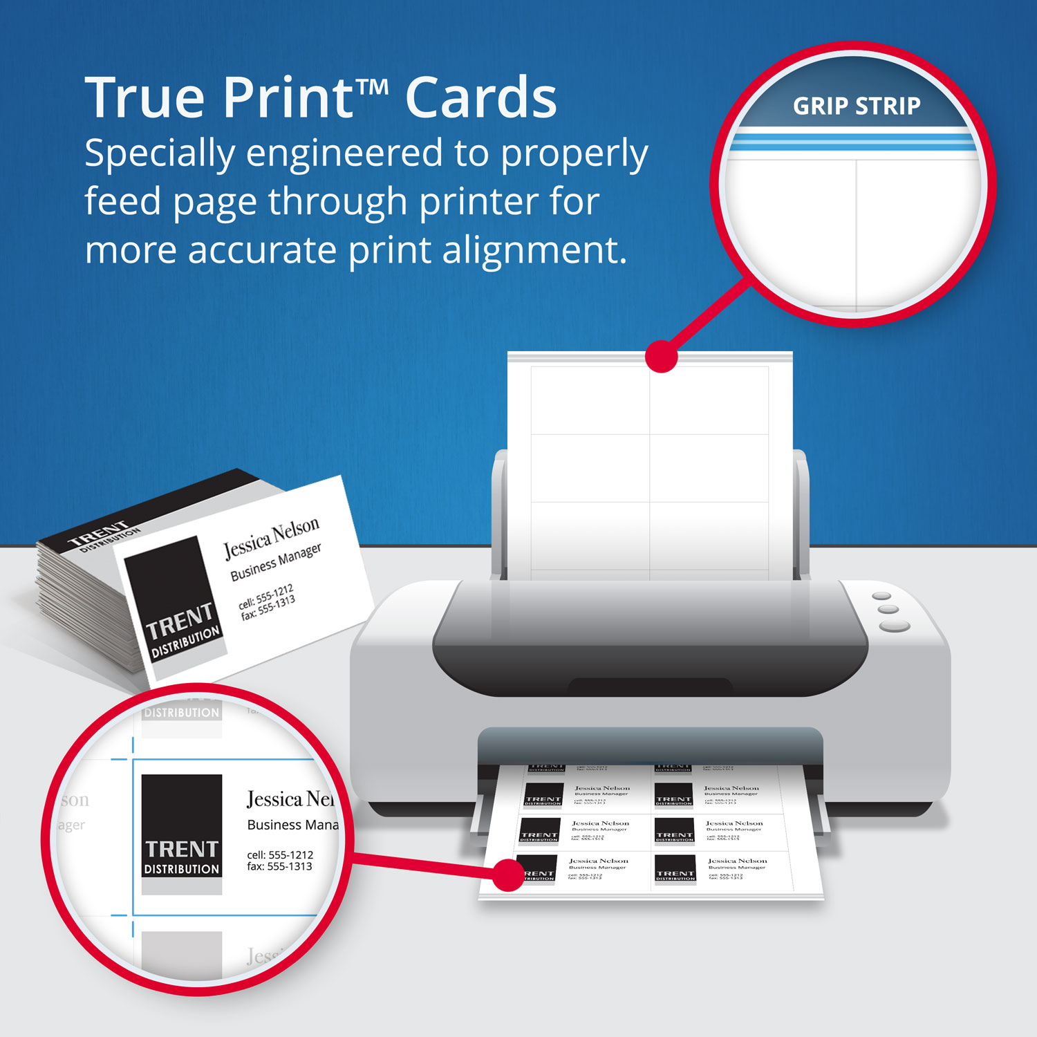 True print clean edge business cards by avery ave8870 true print clean edge business cards inkjet 2 x 3 12 white 1000box reheart Image collections