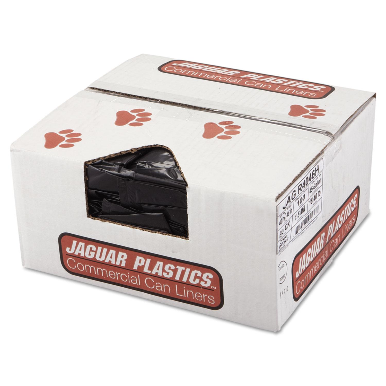 Ct Jaguar Dealers: JAGR4046H Jaguar Plastics® Repro Low-Density Can Liners
