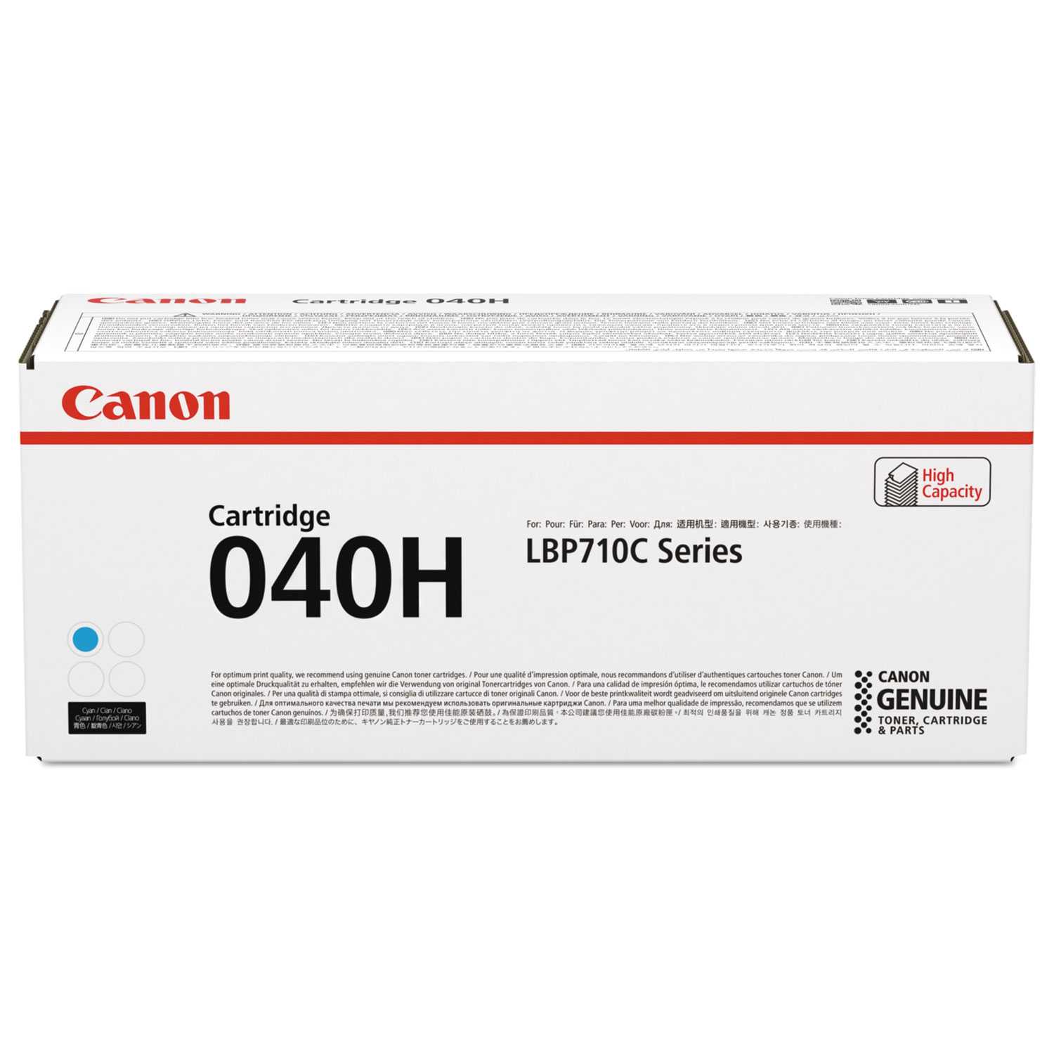 0459C001AA High-Yield Ink, 10000 Page-Yield, Cyan