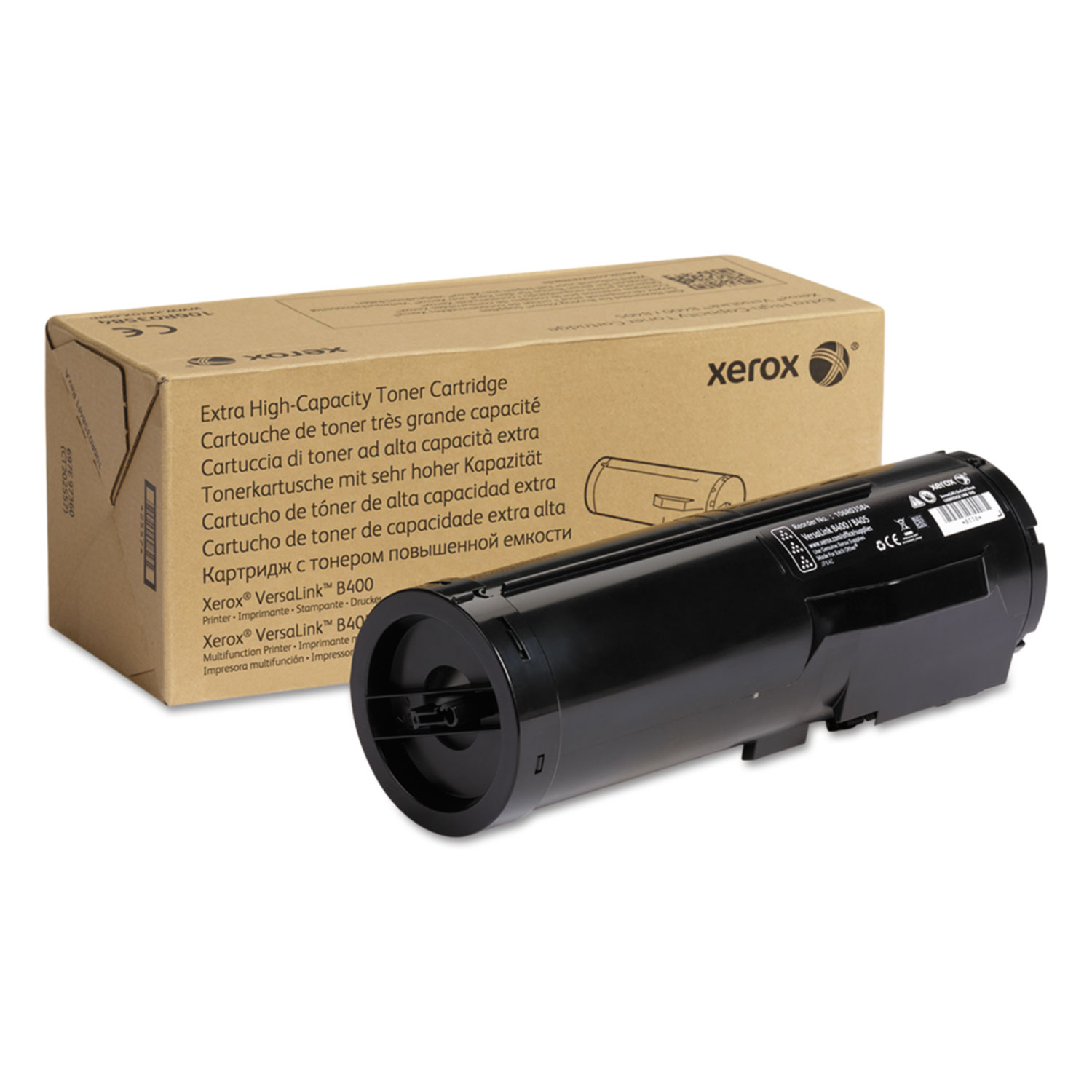 106R03584 Extra High-Yield Toner, 24600 Page-Yield, Black