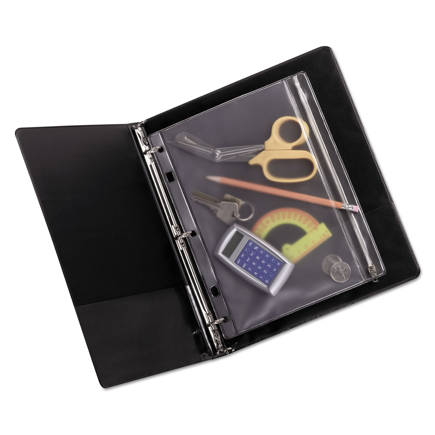 Zippered Ring Binder Pocket By Oxford™ OXF68504