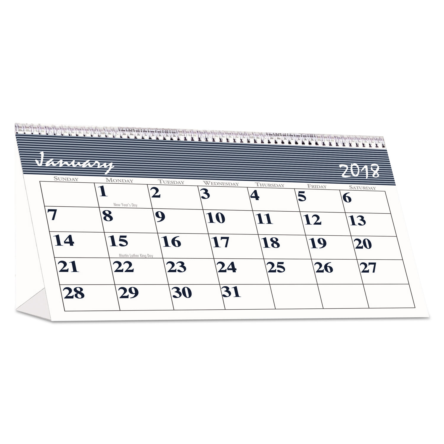 recycled bar harbor desk tent monthly calendar by house of doolittle hod3679 ontimesupplies com