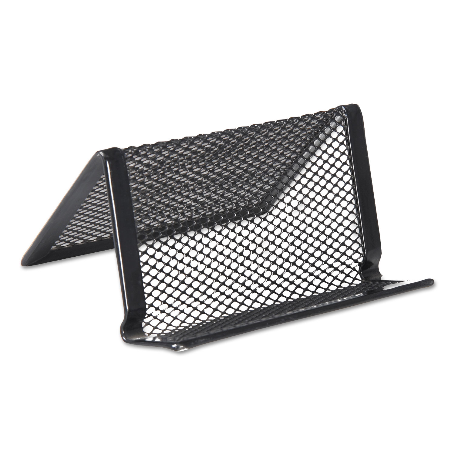 Mesh Metal Business Card Holder By Universal® UNV20005