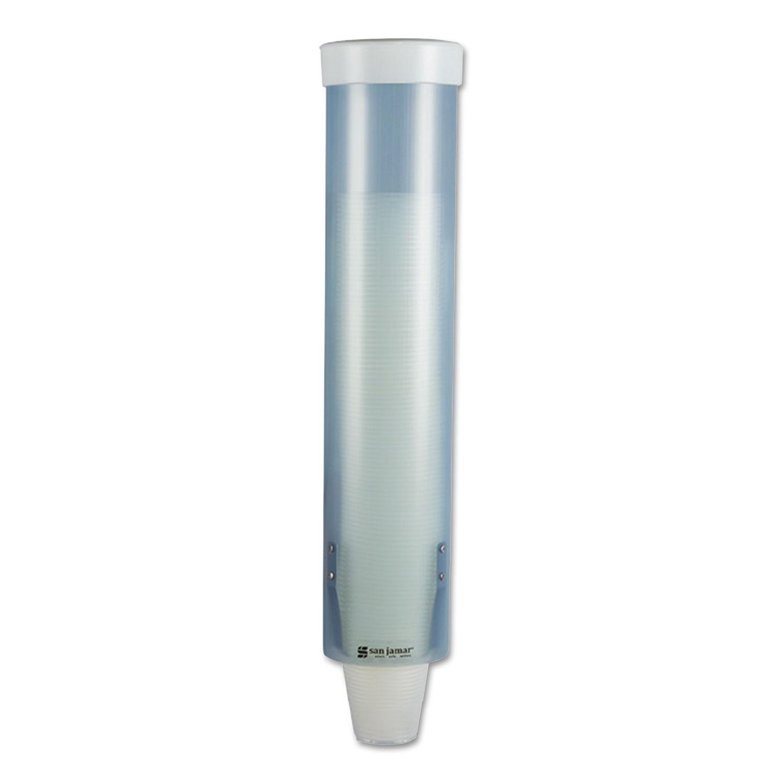 Sjmc3165fbl San Jamar Adjustable Frosted Water Cup
