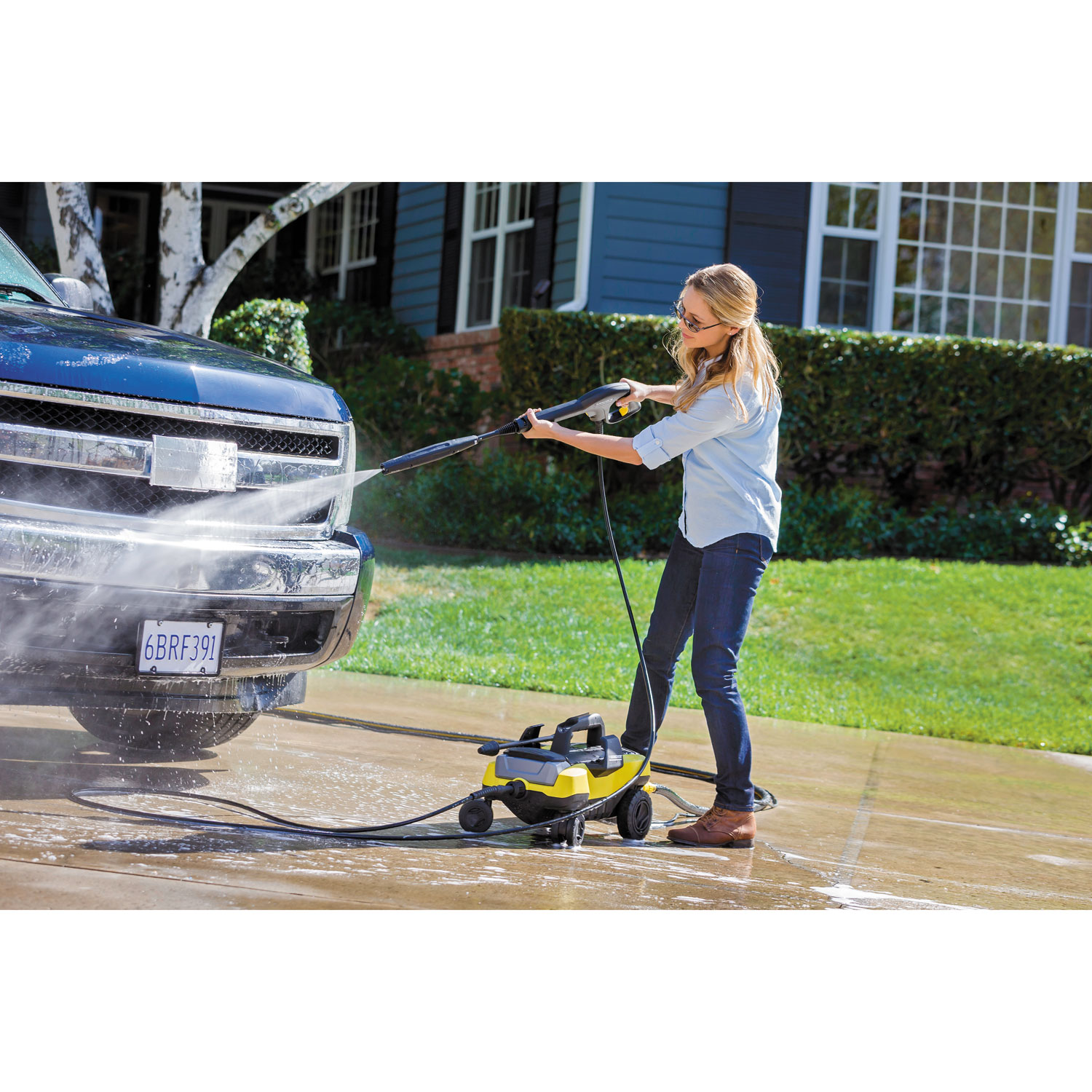Follow Me Series 1,800 PSI 1.3 GPM Electric Pressure Washer