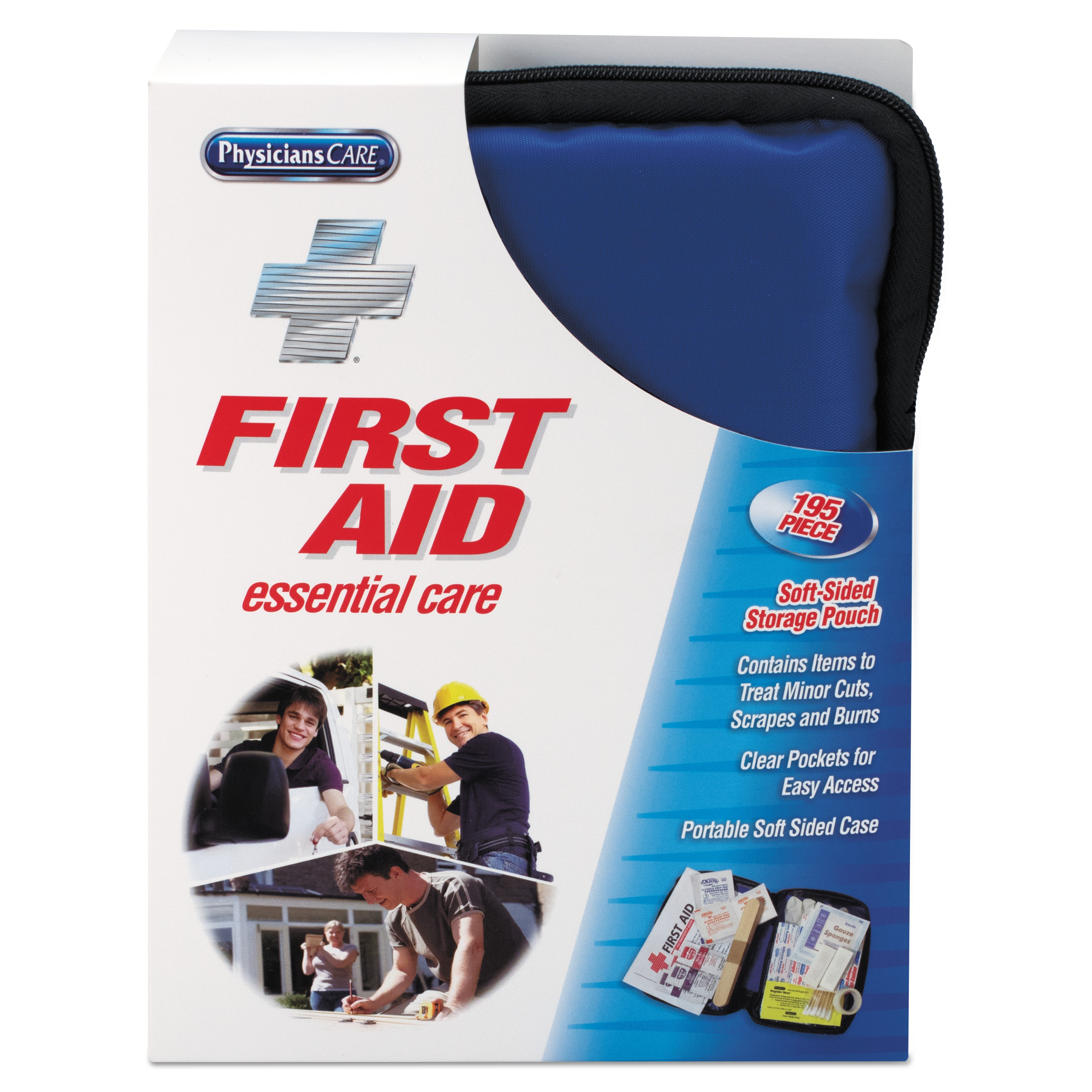 ACME UNITED CORPORATION Soft-Sided First Aid Kit For Up To 25 People
