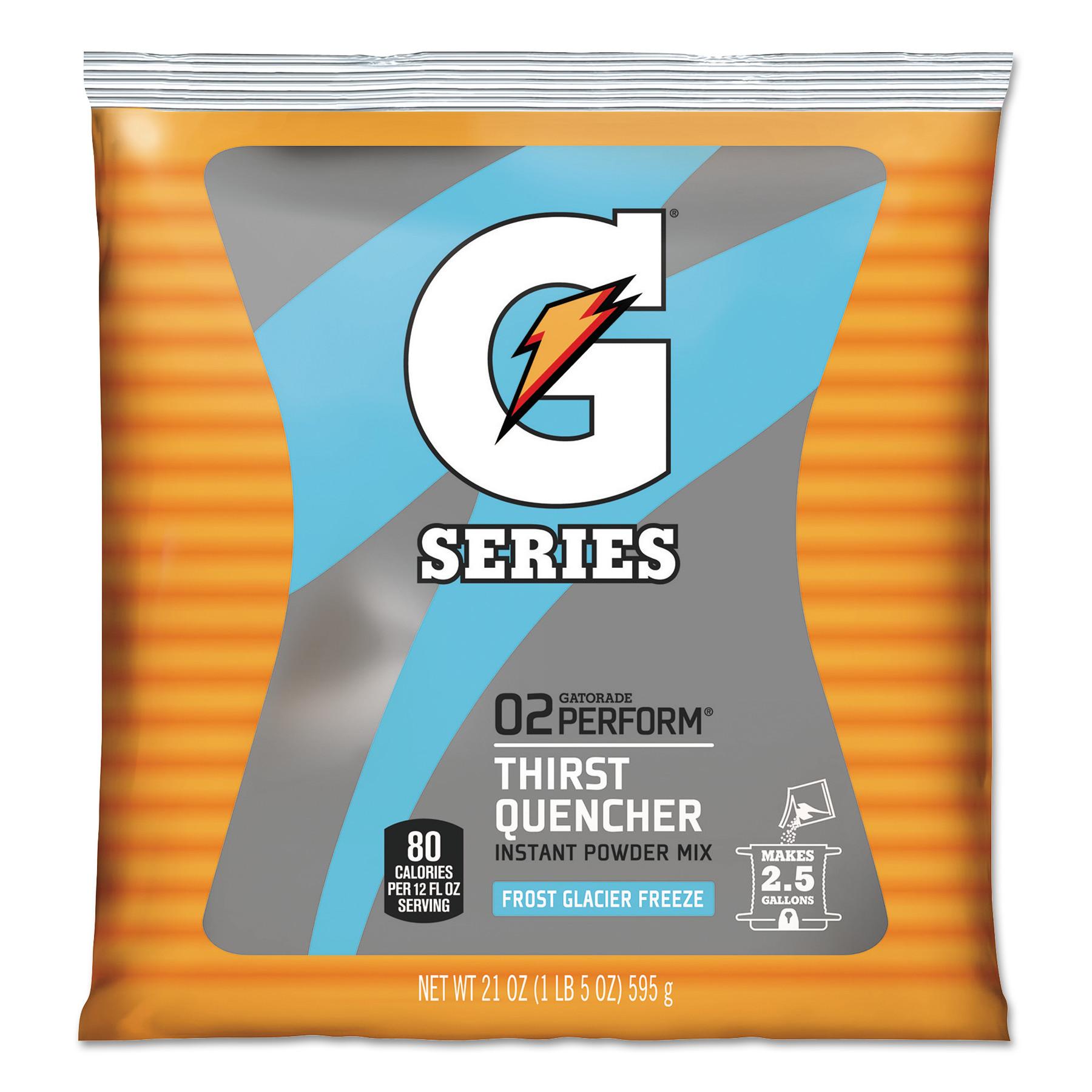 Powdered Drink Mix, Glacier Freeze, 21oz Packet, 32/Carton