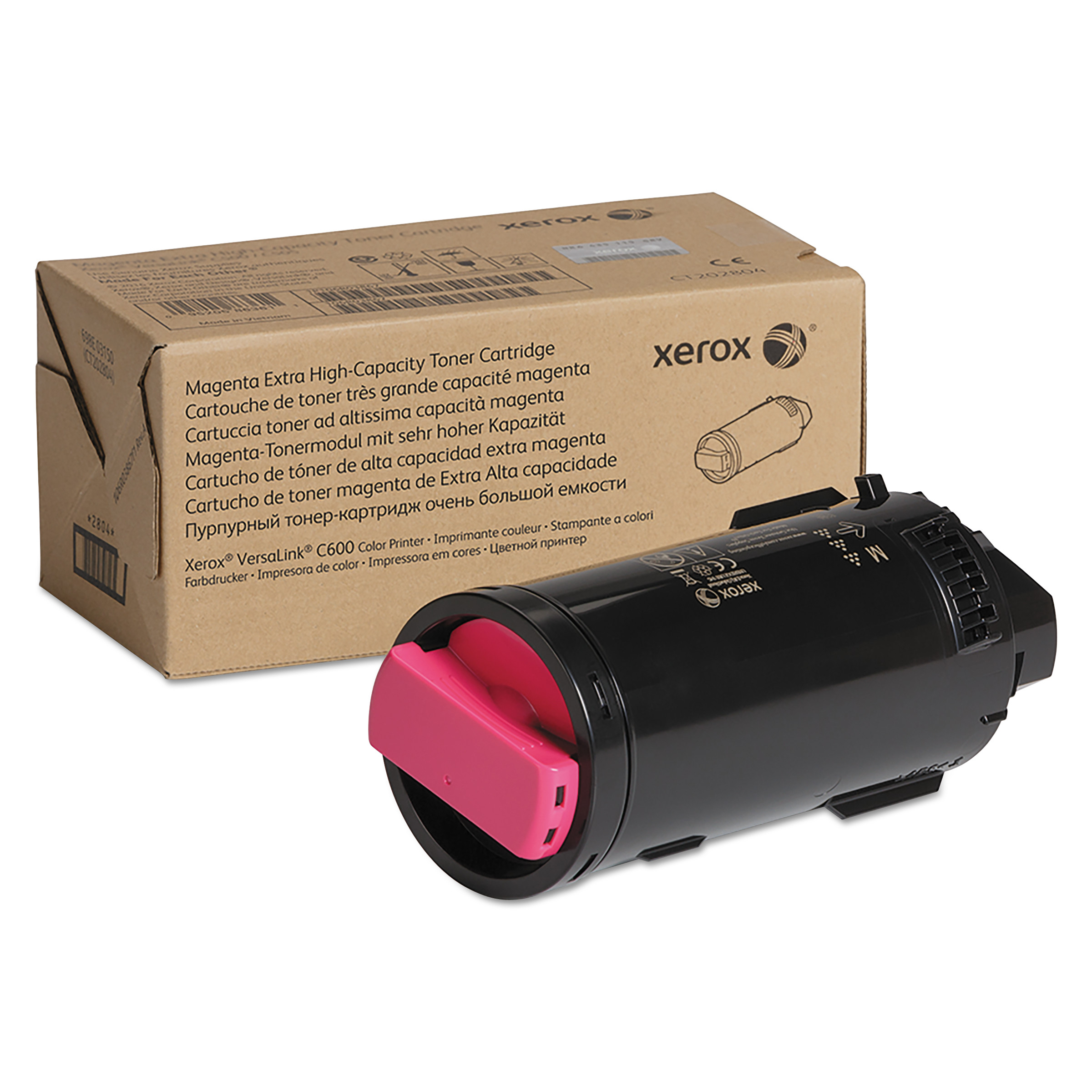106R03917 Extra High-Yield Toner, 16800 Page-Yield, Magenta