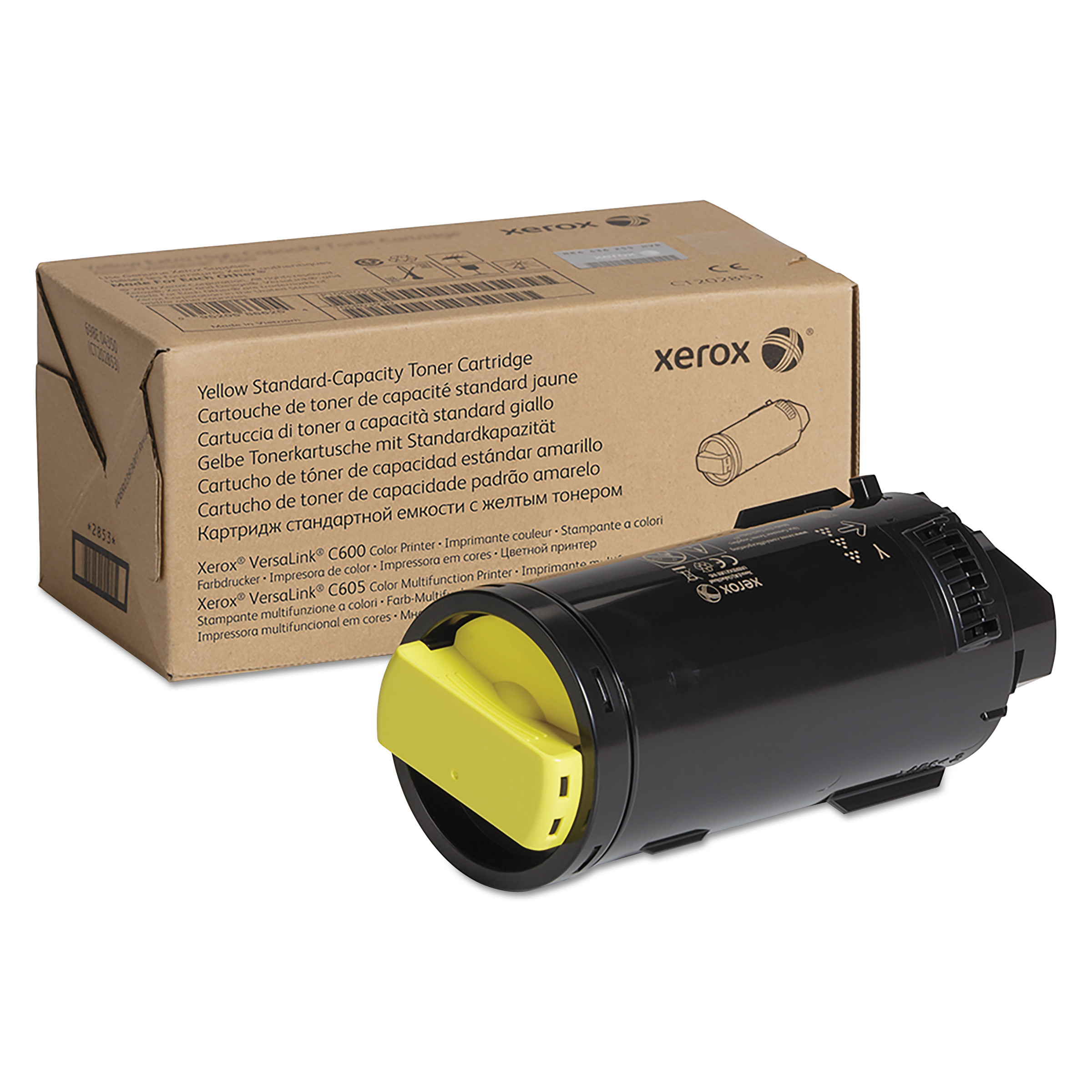 106R03898 Toner, 6000 Page-Yield, Yellow