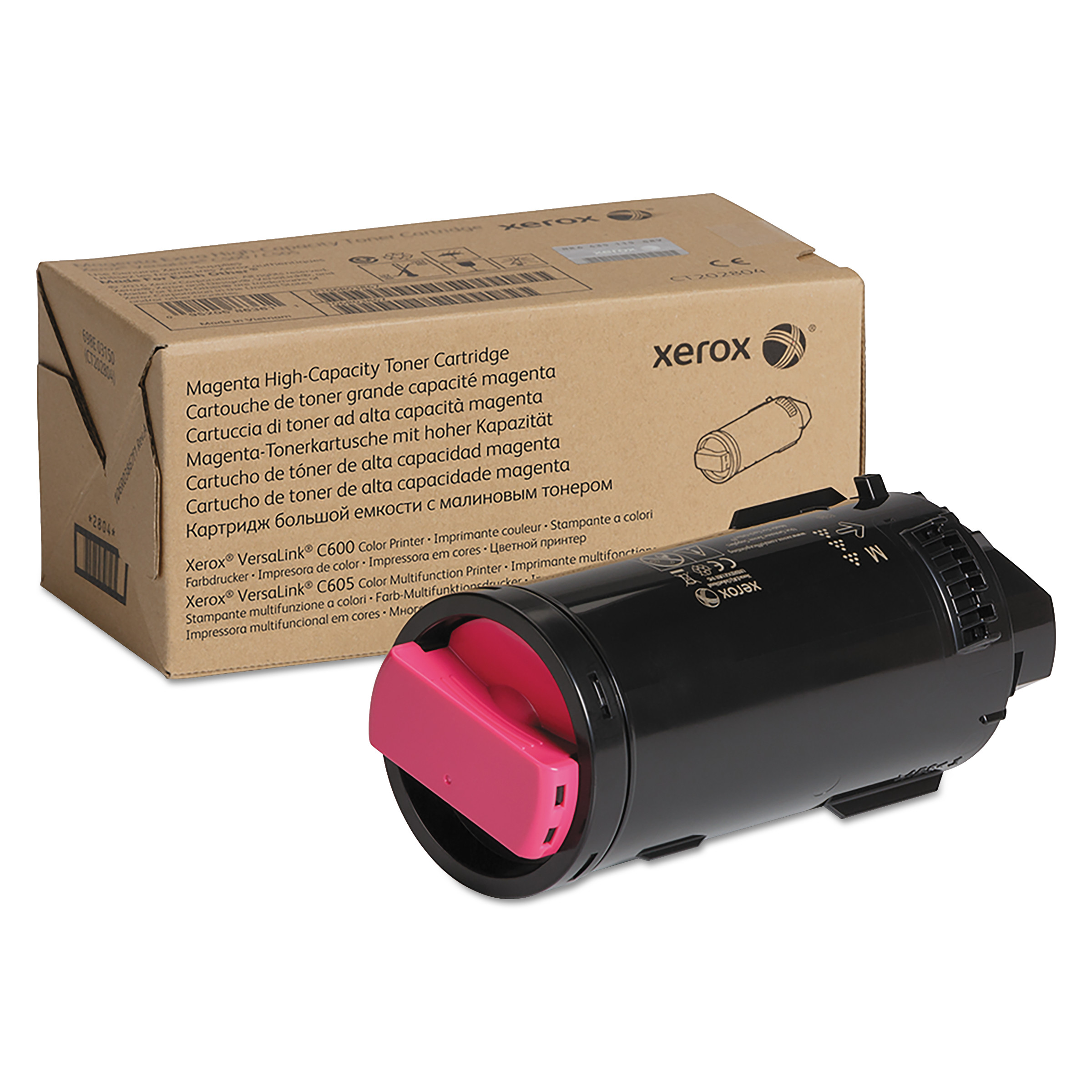 106R03901 High-Yield Toner, 10100 Page-Yield, Magenta