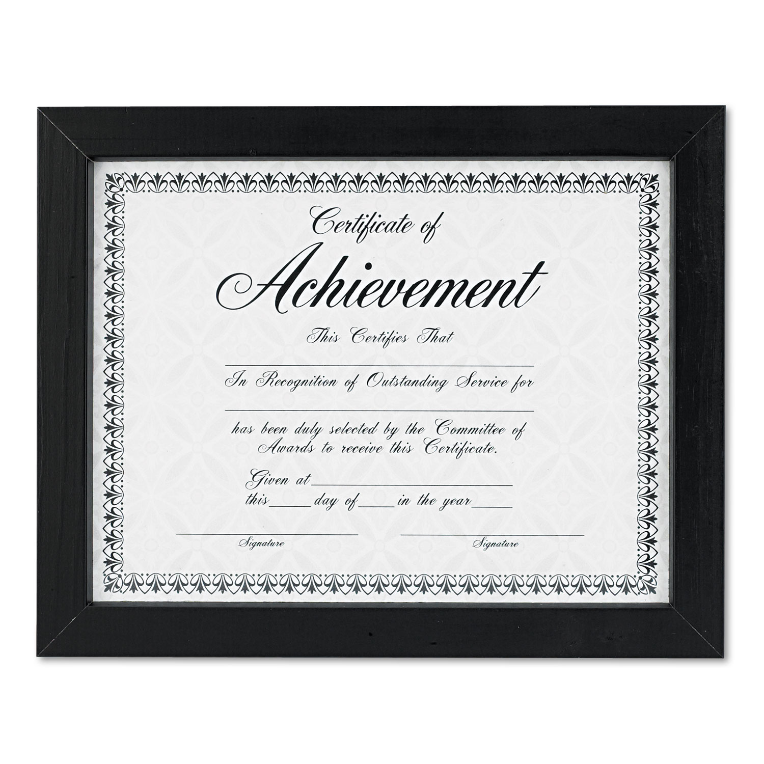 document certificate frames by dax daxn15832 ontimesupplies com