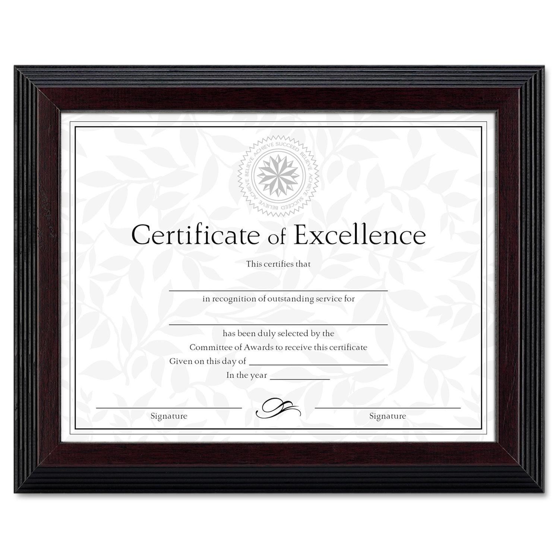 Stepped Award/Certificate Frame by DAX® DAXN19881BT - OnTimeSupplies.com