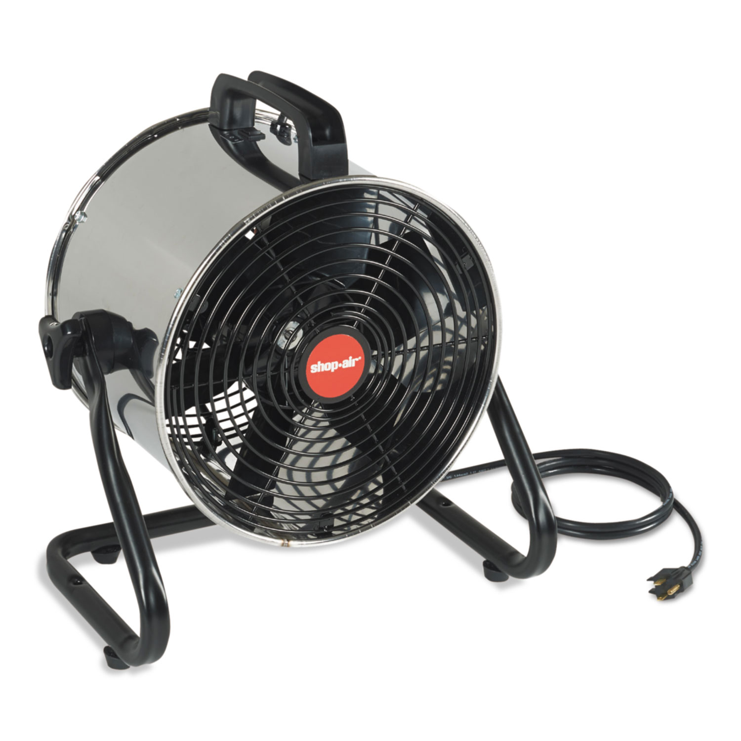 Stainless Steel Portable Blower, 2 Speed, 1.7 A, 2200 CFM
