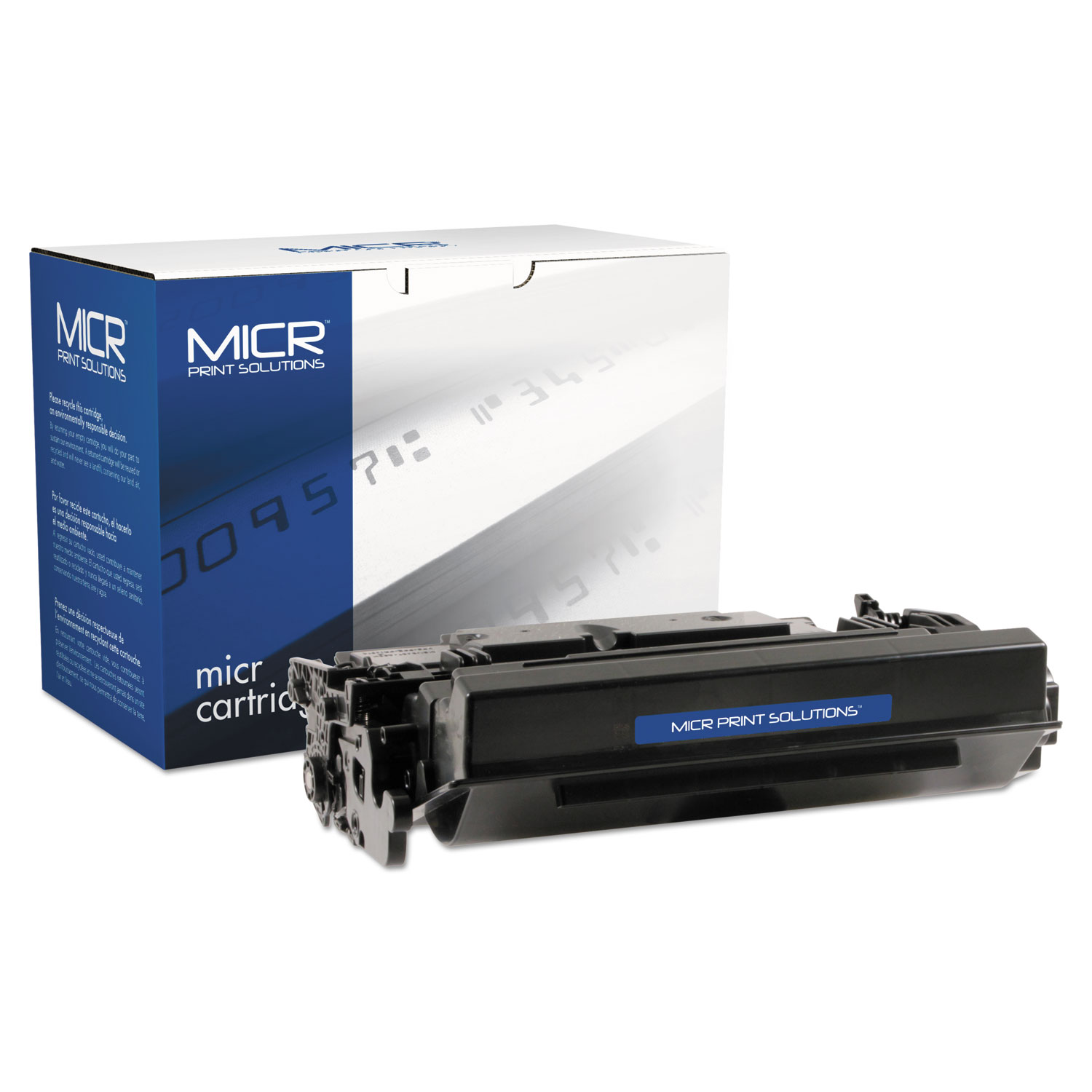 Compatible CF287X(M) (87XM) High-Yield MICR Toner, 18000 Page-Yield, Black
