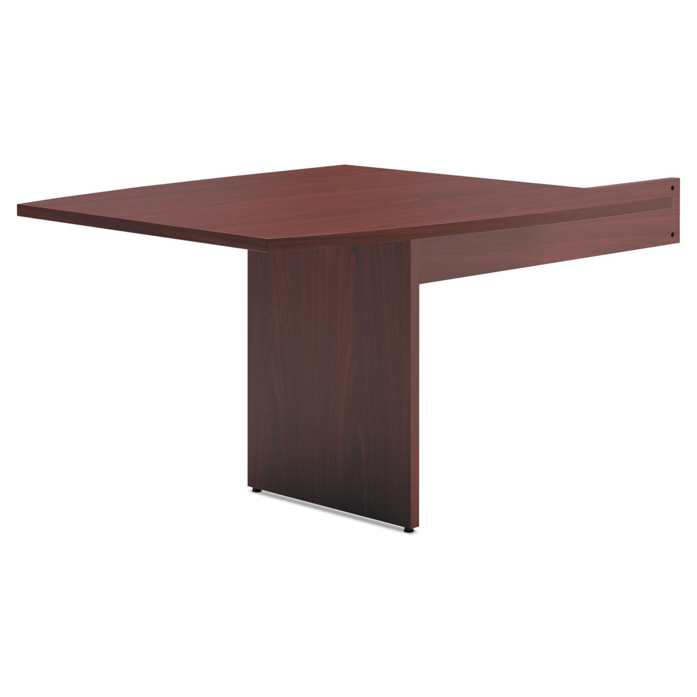 BL Laminate Series BoatShaped Modular Conference Table End By HON - Hon boat shaped conference table