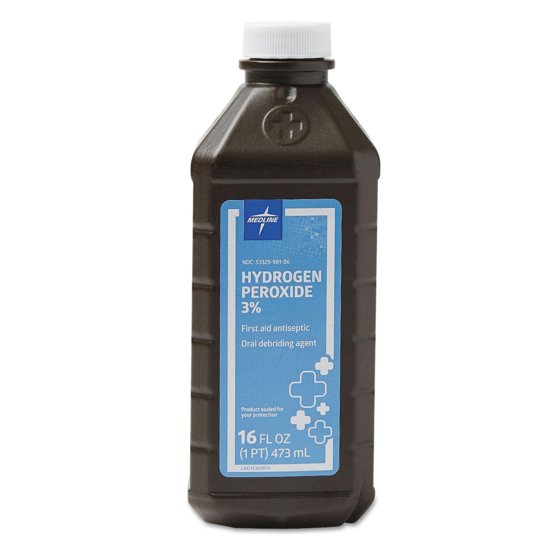 Hydrogen Peroxide, 16 oz