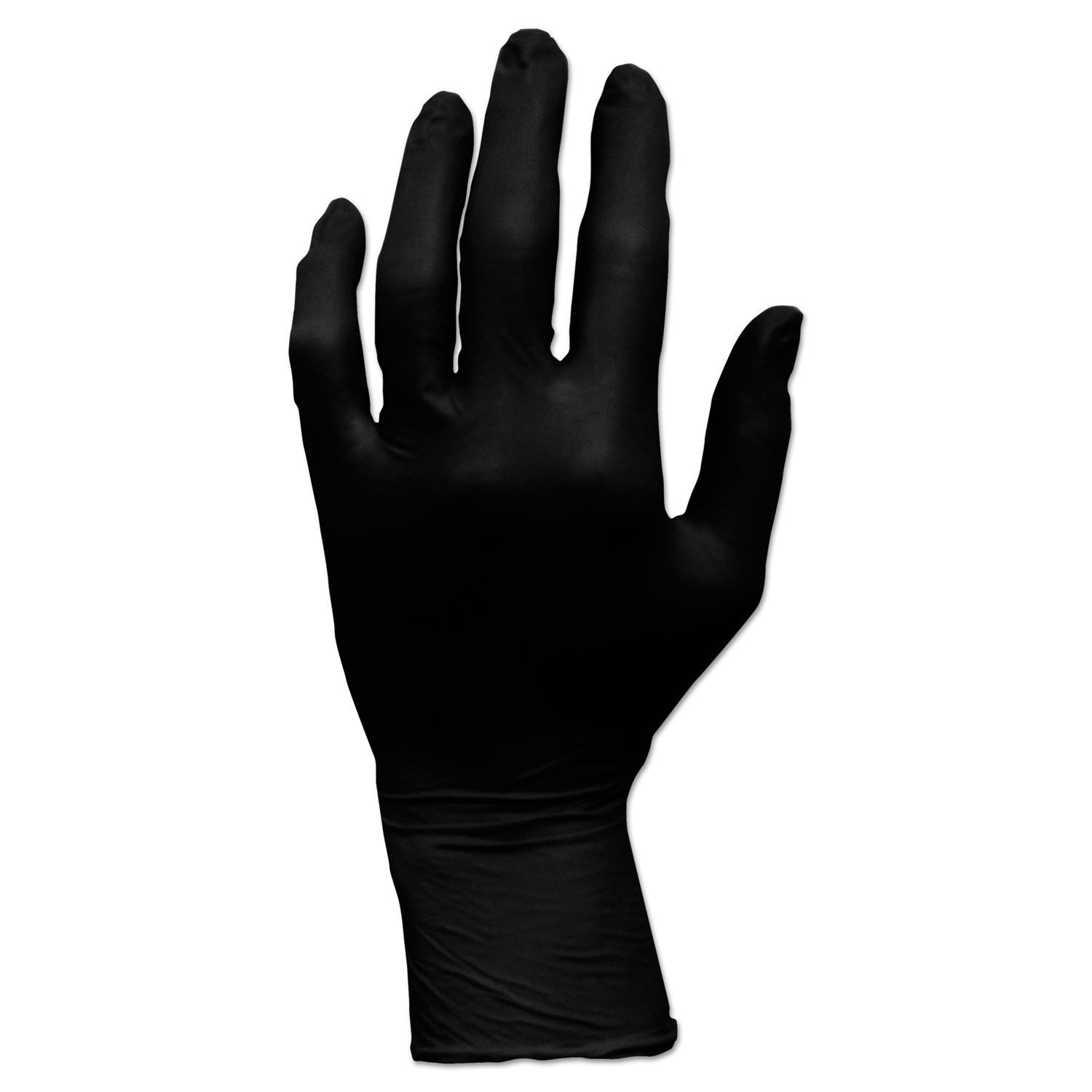 ProWorks GrizzlyNite Nitrile Gloves, Black, Small, 1000/CT