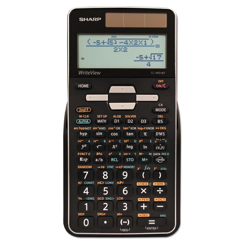 EL-W516TBSL Scientific Calculator, 16-Digit LCD