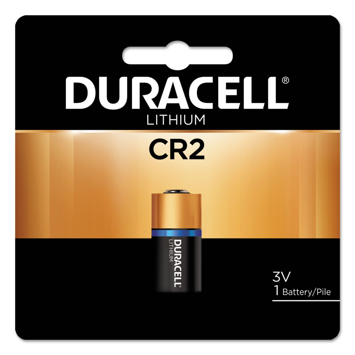 Specialty High-Power Lithium Battery, CR2, 3V