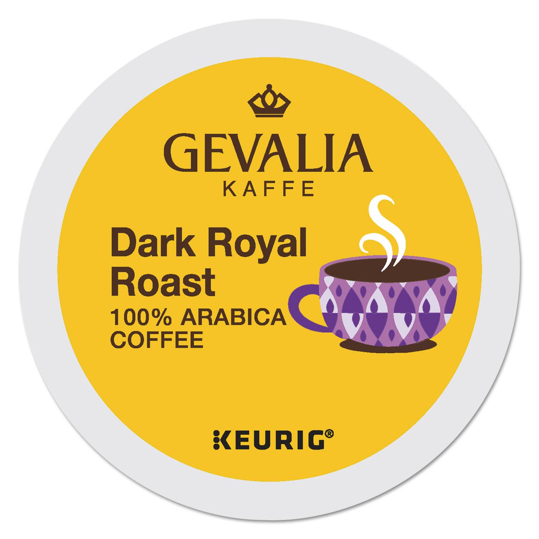 Kaffee Dark Royal Roast K-Cups, 24/Box
