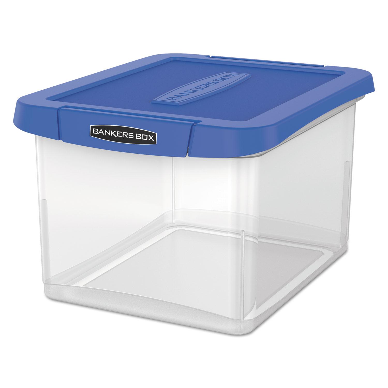 Heavy Duty Plastic File Storage, 14 x 17 3/8 x 10 1/2