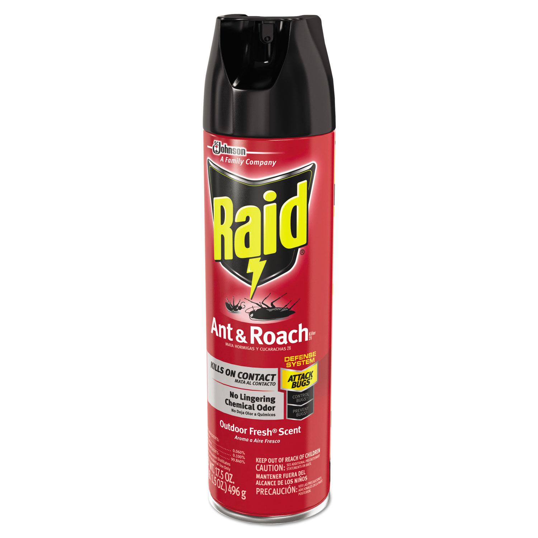 ant and roach killer by raid sjn669798. Black Bedroom Furniture Sets. Home Design Ideas