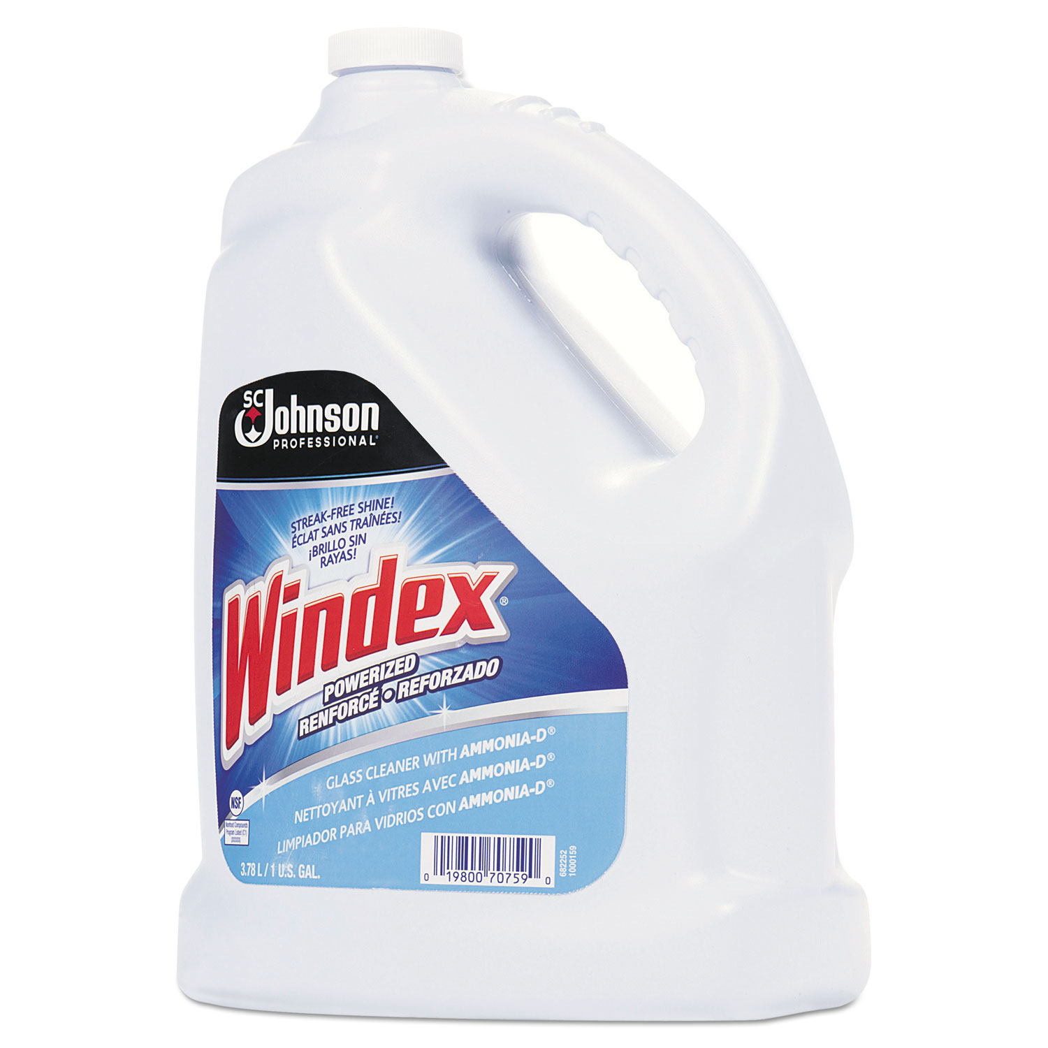 windex glass cleaner msds pdf
