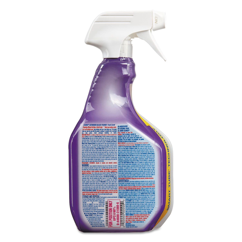 Bleach Foamer Bathroom Spray By Clorox Clo31088ea