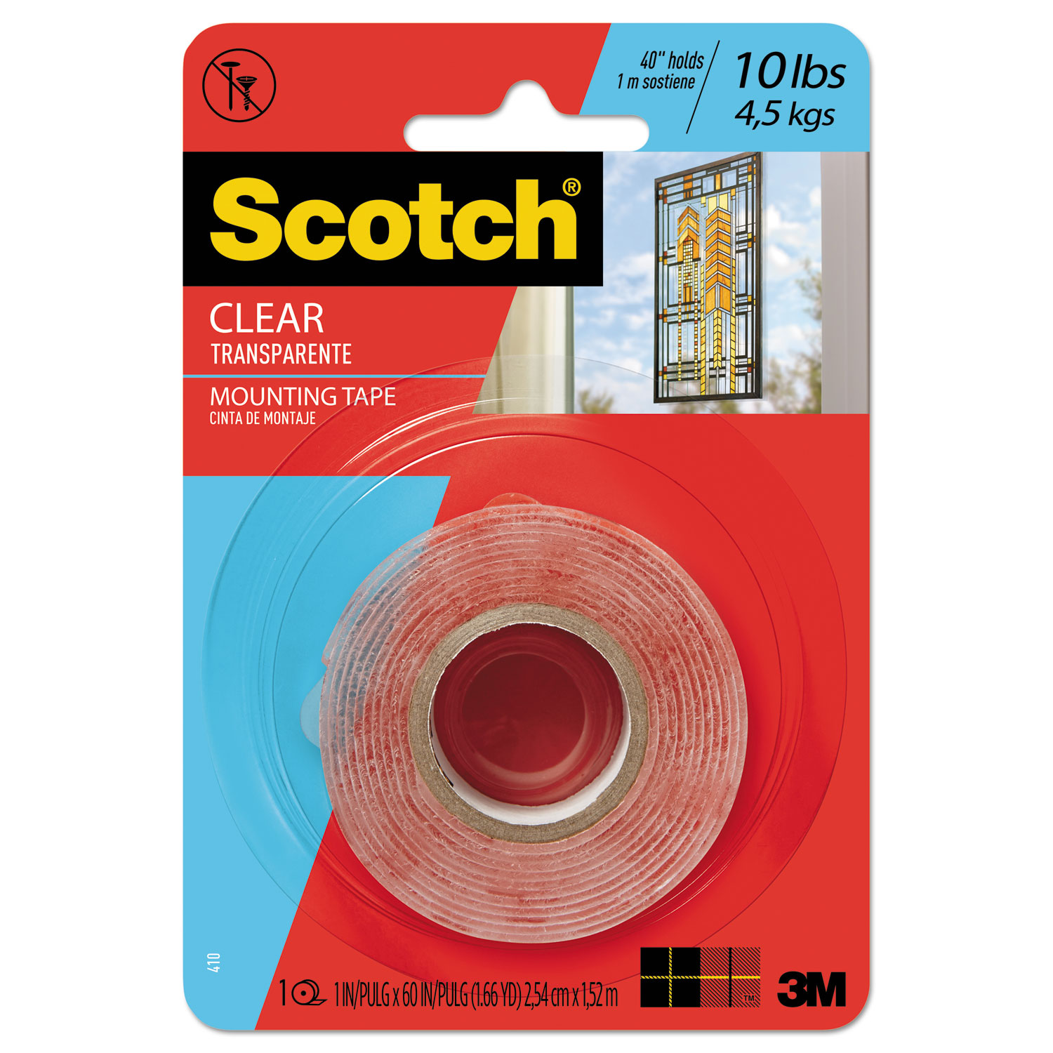 Double Sided Mounting Tape By Scotch Mmm410p Ontimesuppliescom