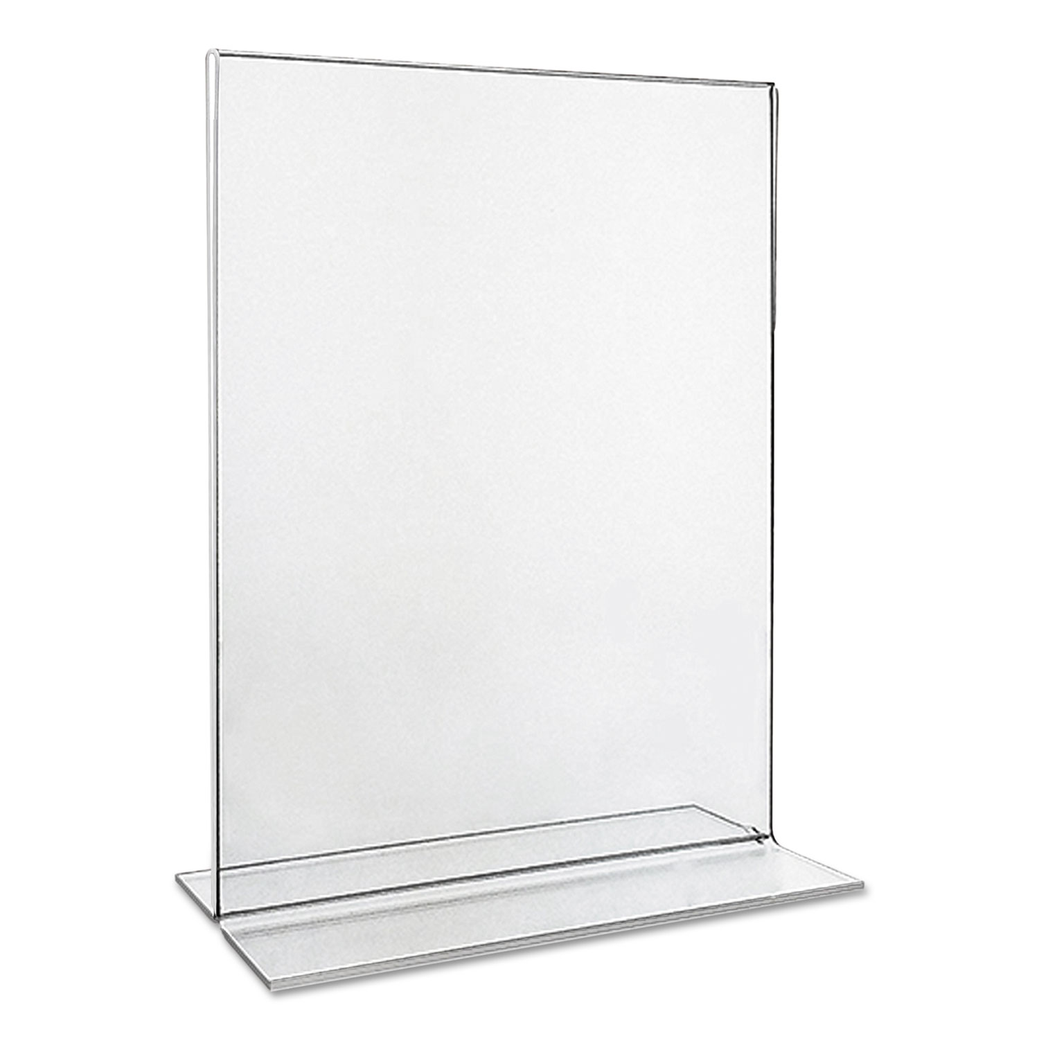 clear 2 sided t style freestanding frame by universal unv76863
