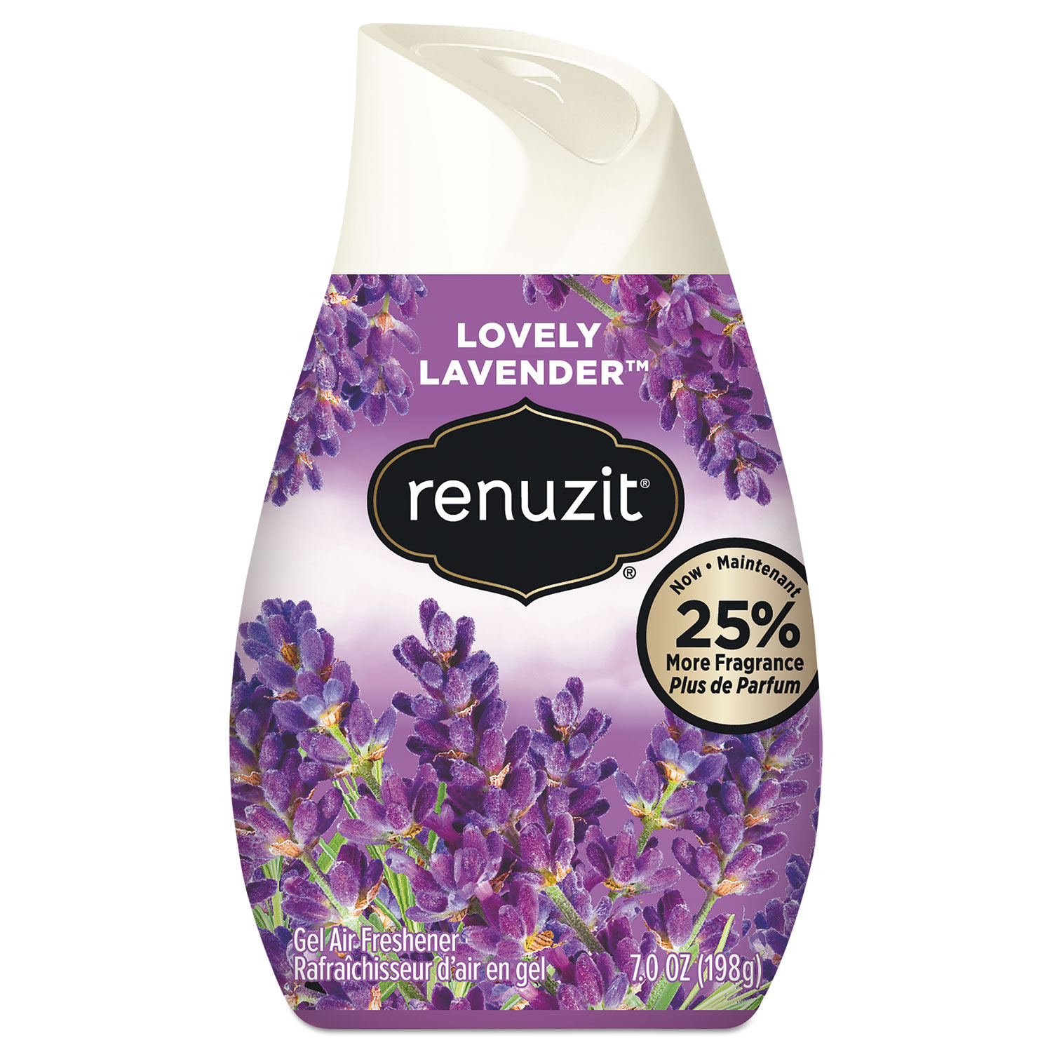 Adjustables Air Freshener, Lovely Lavender, 7 oz Solid