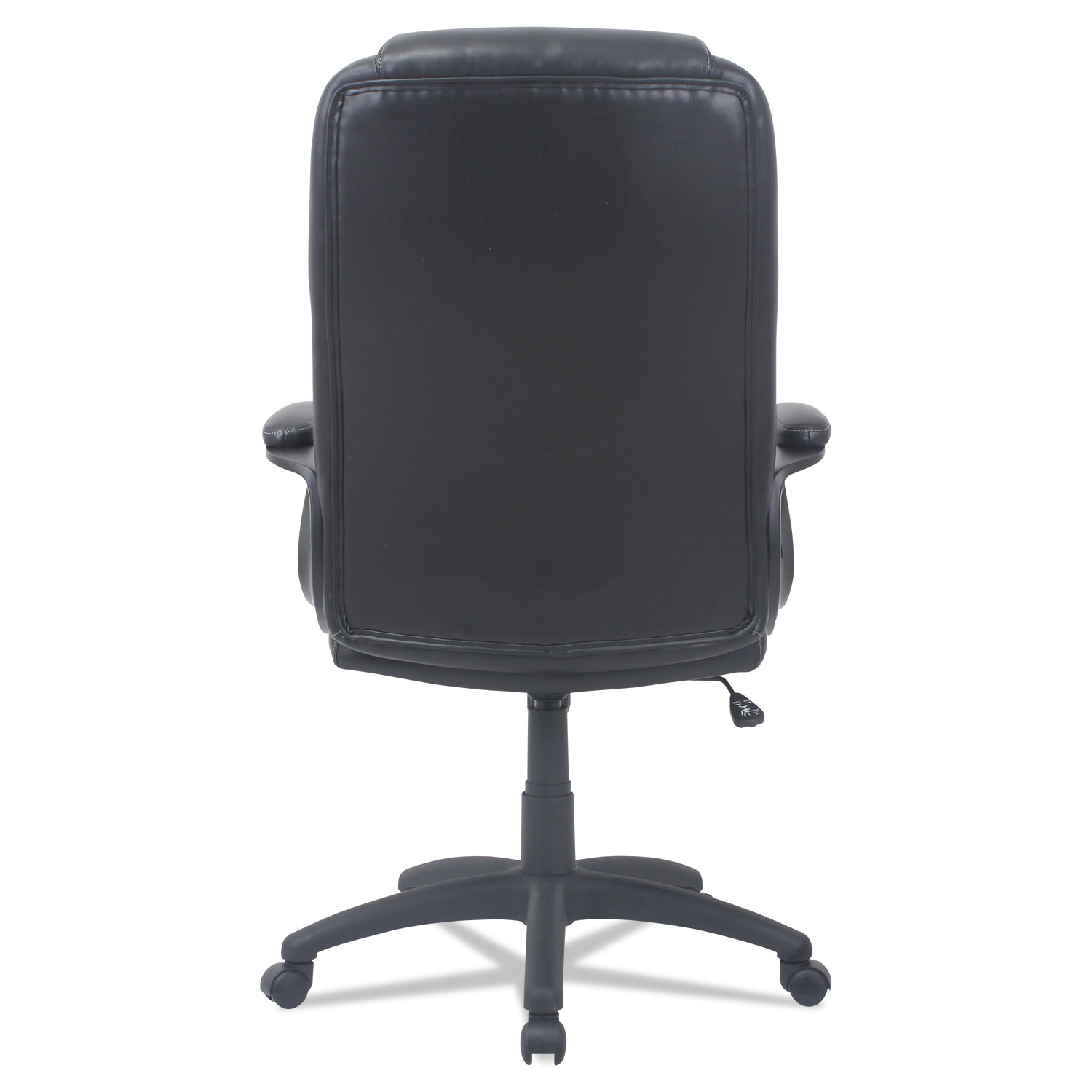 high back leather chairs. Alera CC Series Executive High-Back Leather Chair, Black High Back Chairs