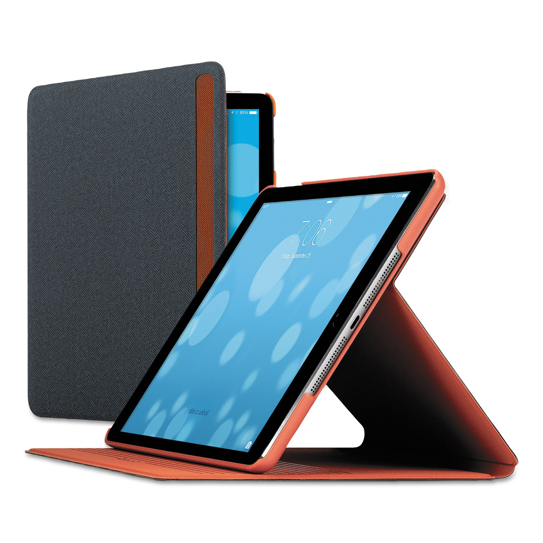 Austin iPad Air Case, Polyester, Gray/Orange