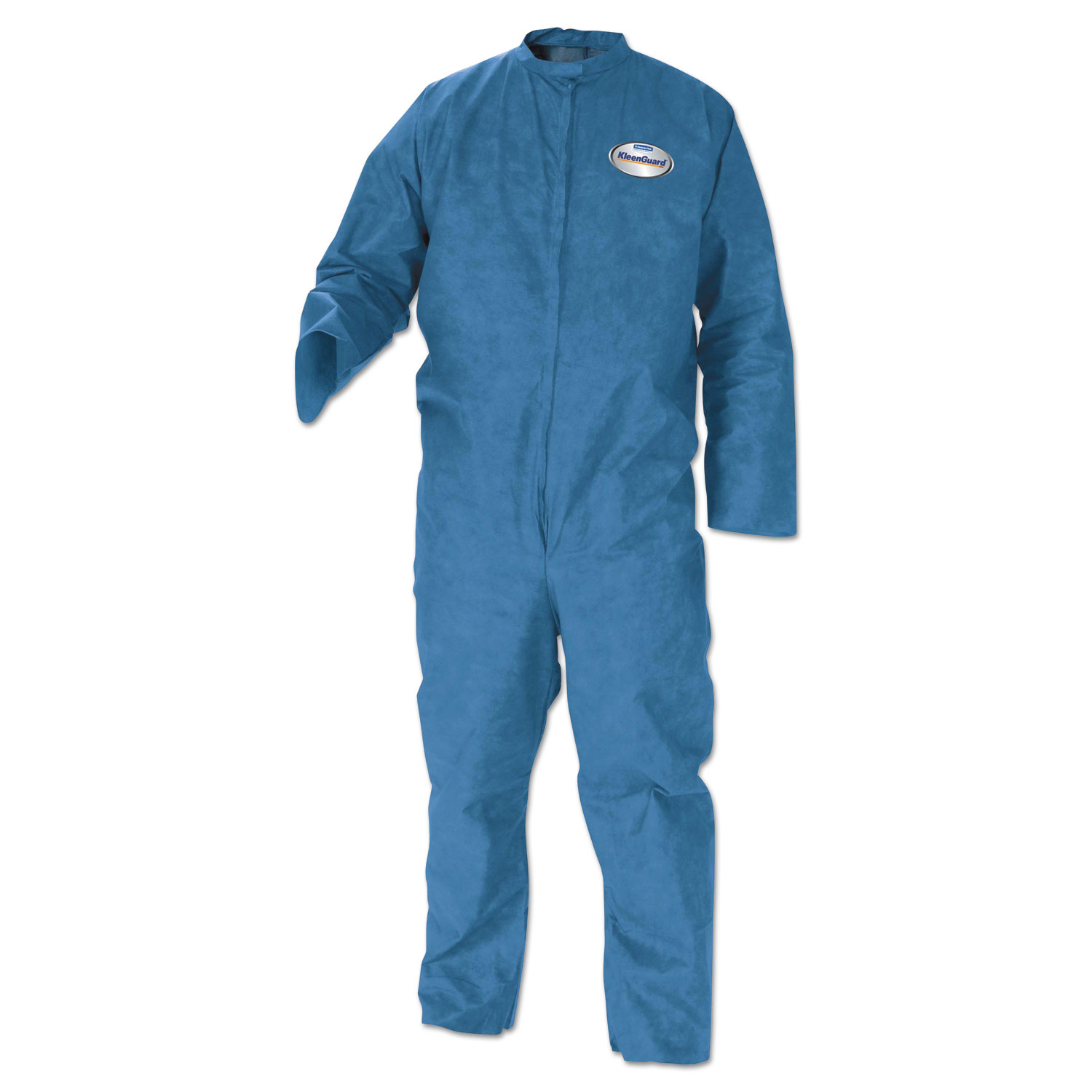 A20 Breathable Particle Protection Coveralls, Blue, Medium, 24/Carton
