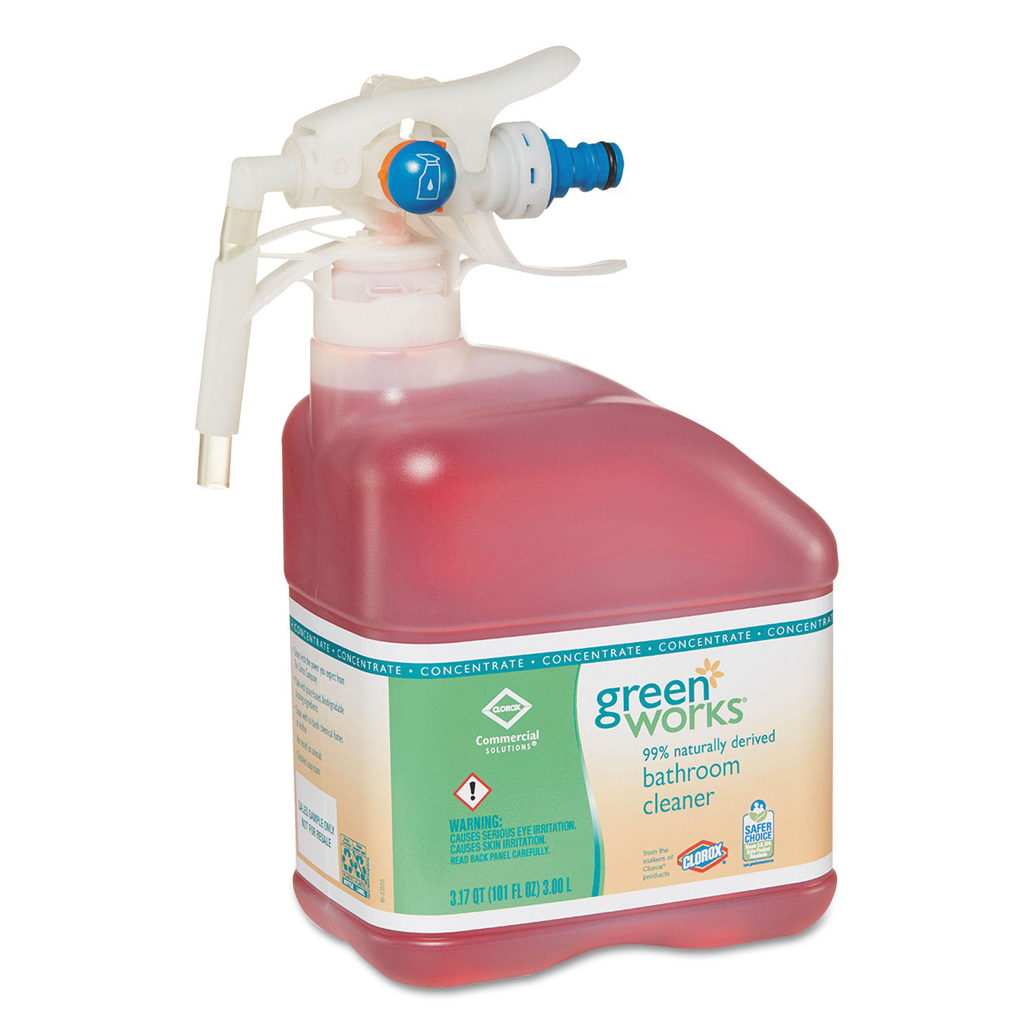 Green Bathroom Cleaners That Work: CLO31752 Green Works Bathroom Cleaner Concentrate
