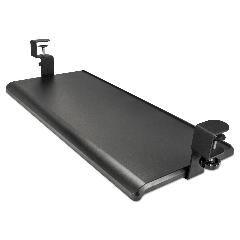 adaptivergo clamp on keyboard tray by alera alekbt1b. Black Bedroom Furniture Sets. Home Design Ideas