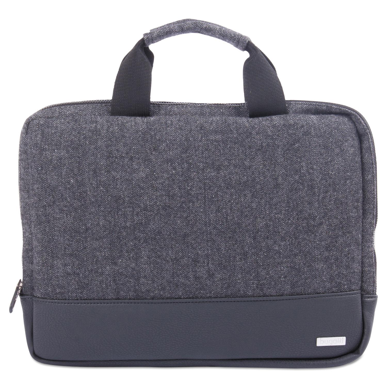 "Matt Laptop Sleeve, 10"" x 1"" x 10"", Polyester, Black/Gray"