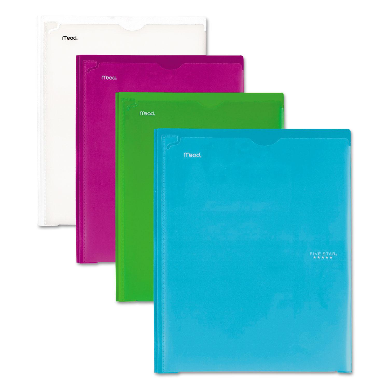 MEA38130 Five Star Customizable Pocket/Prong Plastic