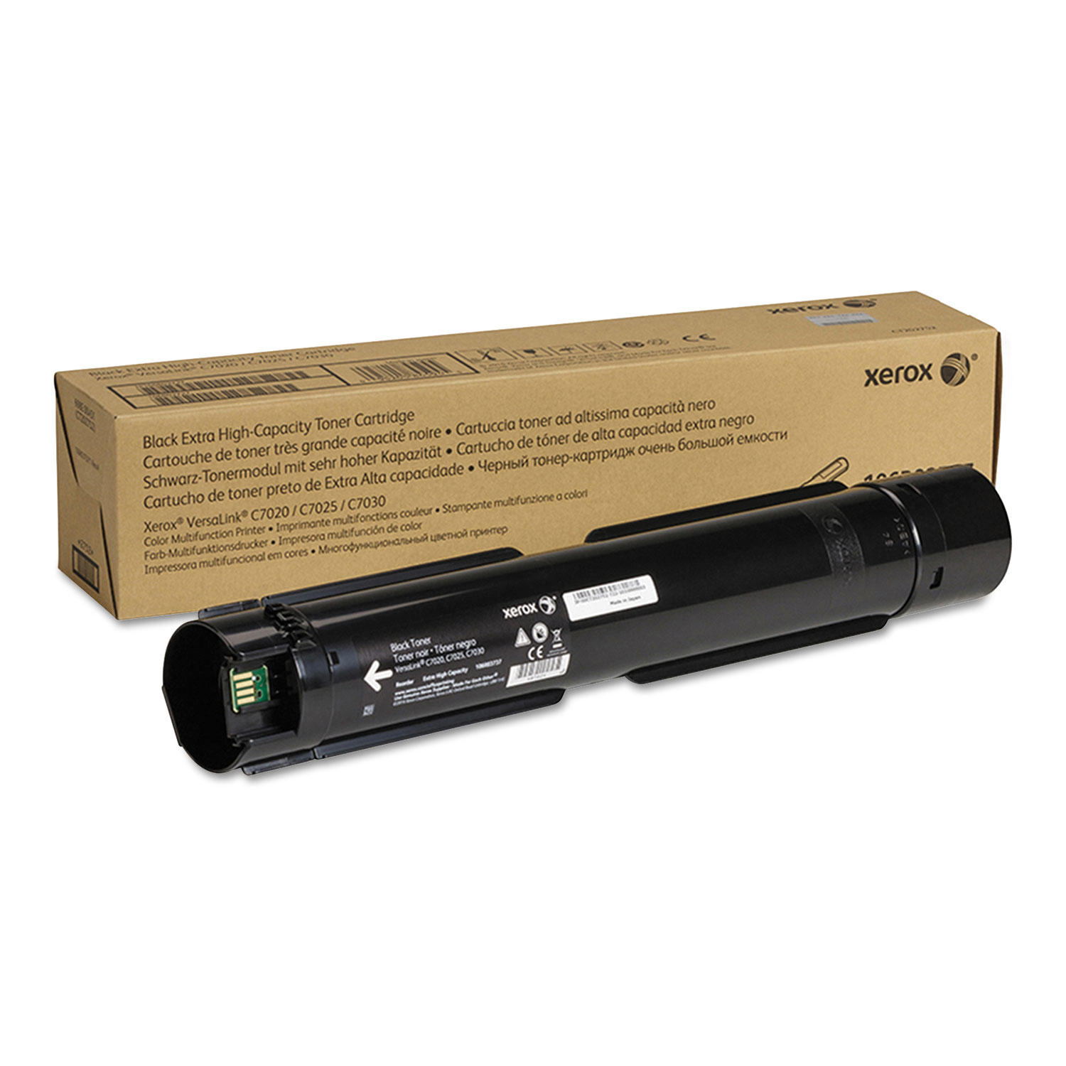 106R03737 Extra High-Yield Toner, 23600 Page-Yield, Black
