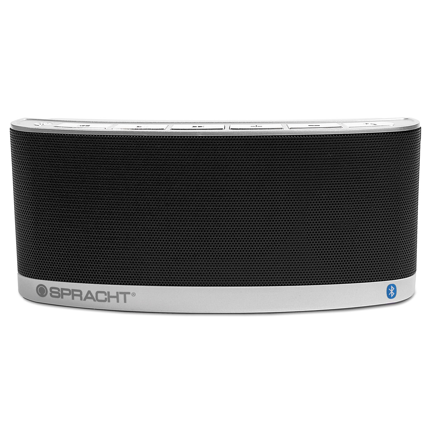Blunote 2 Portable Wireless Bluetooth Speaker, Silver