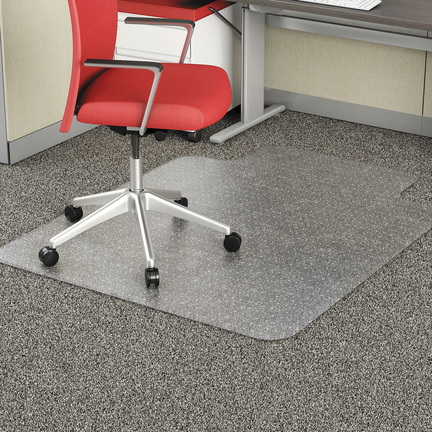 chair mat wood alemat3648cfpl thumbnail occasional use studded chair mat for flat pile carpet by alera