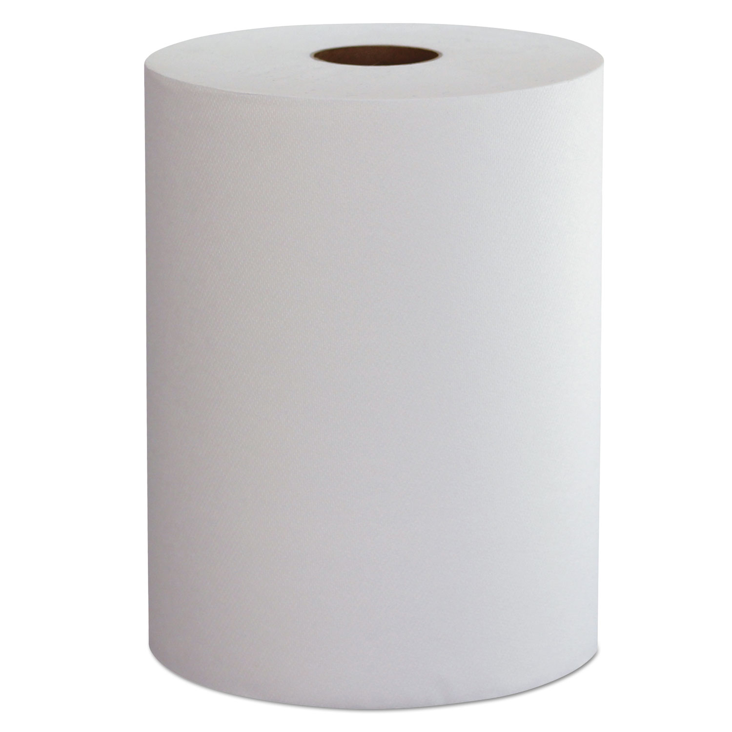 """10 Inch Roll Towels, 1-Ply, 10"""" x 800 ft, White, 6 Rolls/Carton"""